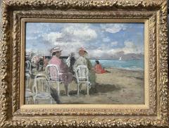 Francois Gall Beach Scene - 1876314