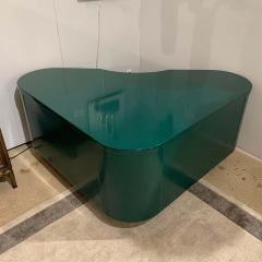 Frank Fletcher Art Deco Racing Green Fletcher Aviation Desk - 1256448