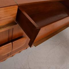 Frank Kyle Midcentury Mexican Modernist Floating Bamboo Credenza Frank Kyle 1960s - 694780