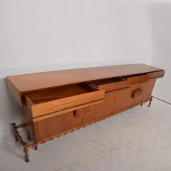 Frank Kyle Midcentury Mexican Modernist Floating Bamboo Credenza Frank Kyle 1960s - 694782