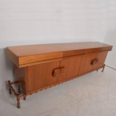 Frank Kyle Midcentury Mexican Modernist Floating Bamboo Credenza Frank Kyle 1960s - 694784