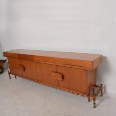 Frank Kyle Midcentury Mexican Modernist Floating Bamboo Credenza Frank Kyle 1960s - 694785