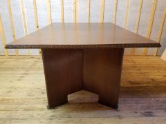 Frank Lloyd Wright Frank Lloyd Wright Extension Mahogany Dining Table Heritage Henredon 1955 - 1457055