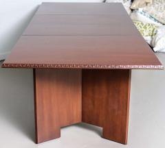 Frank Lloyd Wright Frank Lloyd Wright Mahogany Extension Dining Table - 732502
