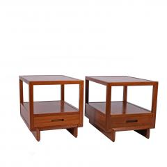 Frank Lloyd Wright Frank Lloyd Wright Night Tables - 1147291