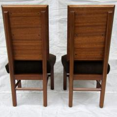 Frank Lloyd Wright Frank Lloyd Wright Suite of Ten Henredon Dining Chairs circa 1955 - 1155148
