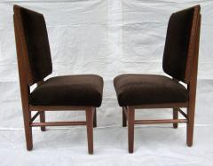 Frank Lloyd Wright Frank Lloyd Wright Suite of Ten Henredon Dining Chairs circa 1955 - 1155149