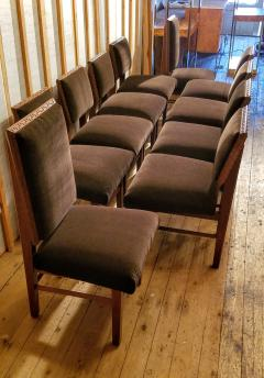 Frank Lloyd Wright Frank Lloyd Wright Suite of Ten Henredon Dining Chairs circa 1955 - 1155150