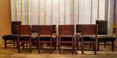 Frank Lloyd Wright Frank Lloyd Wright Suite of Ten Henredon Dining Chairs circa 1955 - 1155192