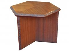 Frank Lloyd Wright Frank Lloyd Wright Taliesin Hexagonal Occasional Tables - 625143