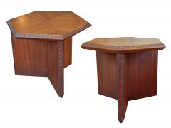Frank Lloyd Wright Frank Lloyd Wright Taliesin Hexagonal Occasional Tables - 625145