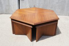 Superior Frank Lloyd Wright Hexagonal Coffee Table Set By Frank Lloyd Wright For  Heritage Henredon   117267
