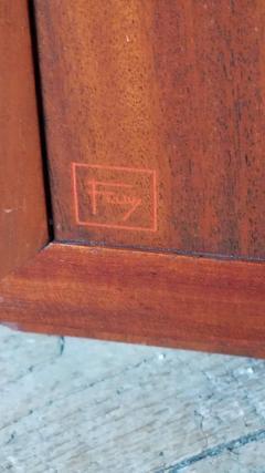 Frank Lloyd Wright Rare Frank Lloyd Wright Pair of Mahogany End Tables Nightstands Henredon 1955 - 2067585