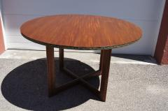 Frank Lloyd Wright Taliesin Dining Table Eight Chairs by Frank Lloyd Wright for Heritage Henredon - 1026332