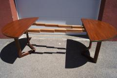 Frank Lloyd Wright Taliesin Dining Table Eight Chairs by Frank Lloyd Wright for Heritage Henredon - 1026333