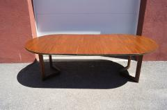 Frank Lloyd Wright Taliesin Dining Table Eight Chairs by Frank Lloyd Wright for Heritage Henredon - 1026334