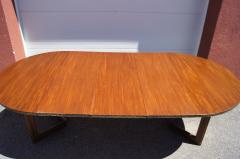 Frank Lloyd Wright Taliesin Dining Table Eight Chairs by Frank Lloyd Wright for Heritage Henredon - 1026338