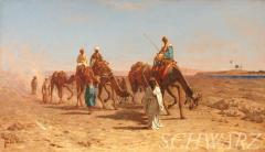 Frank Waller In the Desert - 192124