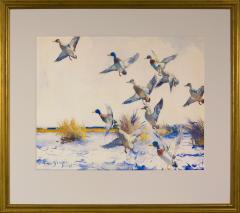 Frank Weston Benson Ducks Rising - 458622