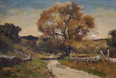 Franklin De Haven American Autumn Landscape Oil Painting Signed and Dated by Benjamin De Haven - 1154332