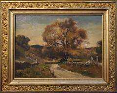 Franklin De Haven American Autumn Landscape Oil Painting Signed and Dated by Benjamin De Haven - 1154333
