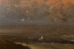 Franklin Dullin Briscoe Oil on academy board seascape - 1725517