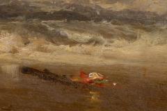 Franklin Dullin Briscoe Oil on academy board seascape - 1725518