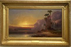 Franklin Dullin Briscoe Palms at Sundown  - 947444