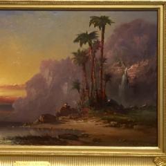 Franklin Dullin Briscoe Palms at Sundown  - 947446