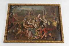 Frans Floris Samson and Delilah Oil on Canvas - 865193