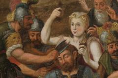 Frans Floris Samson and Delilah Oil on Canvas - 865199