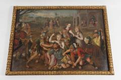Frans Floris Samson and Delilah Oil on Canvas - 865200
