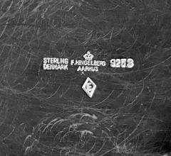 Frantz Hingelberg Frantz Hingelberg Sterling Jug Pitcher Frantz Hingelberg Aarhus C1940 - 1300409