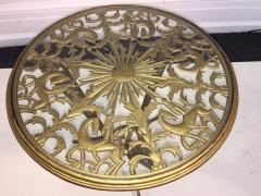 Franz Hagenauer Hagenauer Art Deco Stylized Sun and Horse Table - 530668