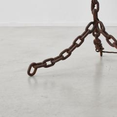 Franz West French iron chain link floor lamp Unknown France 1980s - 1208497