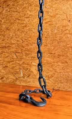 Franz West Marine Chain Steel Floor Lamp France 1970s - 1236741