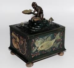 Franz Xaver Bergmann Bergmann Bronze Mermaid Presentation Box - 305101