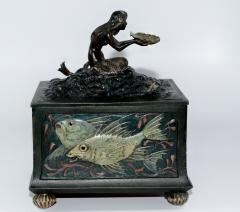 Franz Xaver Bergmann Bergmann Bronze Mermaid Presentation Box - 305103