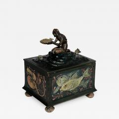 Franz Xaver Bergmann Bergmann Bronze Mermaid Presentation Box - 305603