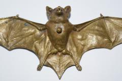 Franz Xaver Bergmann Rare Bronze Bat Bell - 315697