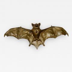 Franz Xaver Bergmann Rare Bronze Bat Bell - 324502
