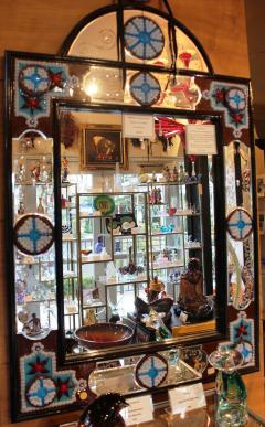 Fratelli Barbini Millefiore Venetian Mirror - 663368