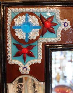 Fratelli Barbini Millefiore Venetian Mirror - 663369