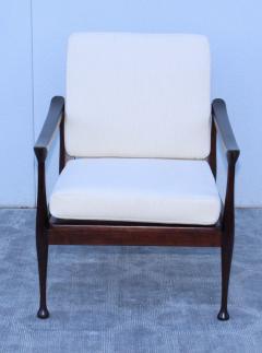 Fratelli Reguitti Fratelli Reguitti Attributed Italian Walnut Lounge Chairs - 1828187
