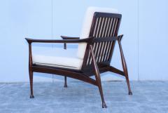 Fratelli Reguitti Fratelli Reguitti Attributed Italian Walnut Lounge Chairs - 1828192