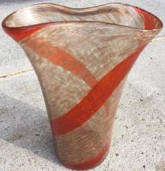 Fratelli Toso Large Fratelli Toso Glass Vase - 656891