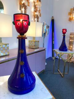 Fratelli Toso Pair of Character Lamps by Fratelli Toso Murano Glass Italy 1960s - 518657