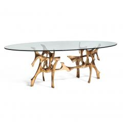 Fred Brouard Rare sculptural dining table - 1694307