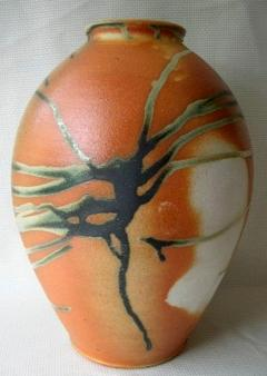 Fred Johnston Fred Johnston Spider Glaze Vase - 355648