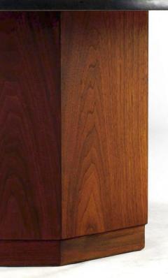 fred kemp - fred kemp walnut and slate coffee table